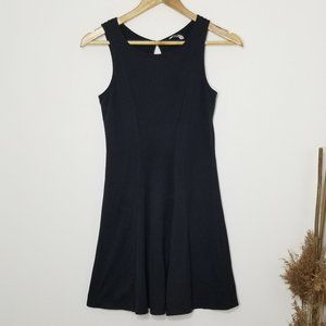 Mudd | A-line Skater Dress Black Stretch Small